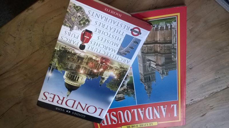 Guides Touristique Londres et Andalousie